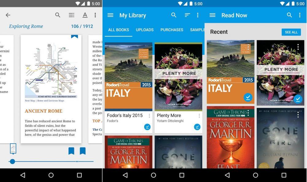 Mejores Aplicaciones Para Leer Libros En PDF, EPUB, MOBI