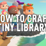 Animal Crossing New Horizons How To Build A Tiny Library