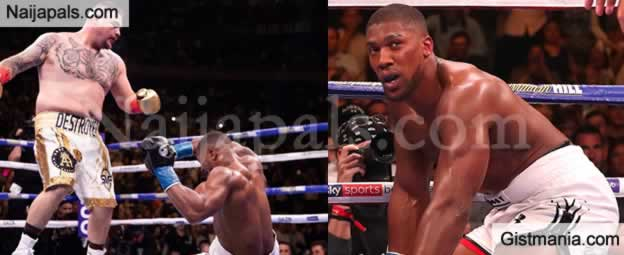 Ngozika Ekwelum Nigeria Heavyweight Champion Anthony Joshua Andy