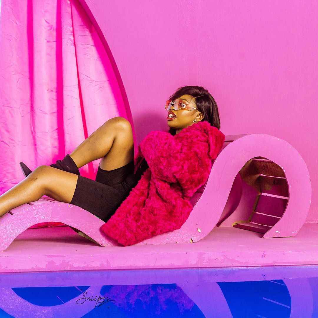 PHOTOS: Naira Marley Unveils Marlian First Lady, Torilyna Keeche aka Torikeeche 5