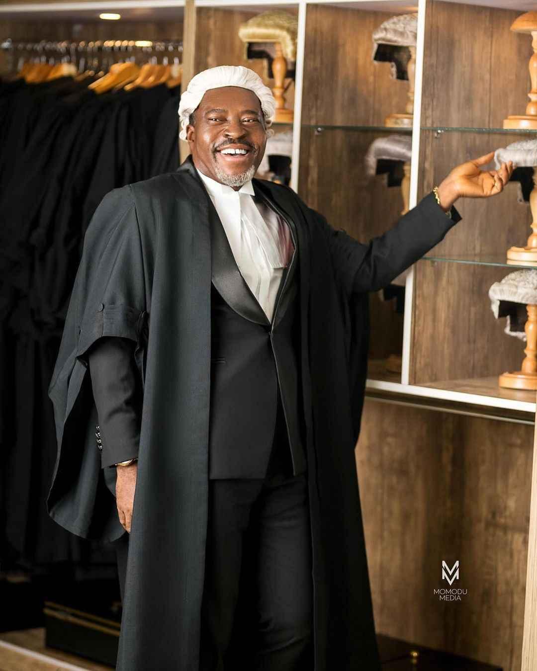 Nigerian Movies: Actor Kanayo O. Kanayo Now a Full Time Lawyer at 58 (Photos) 2