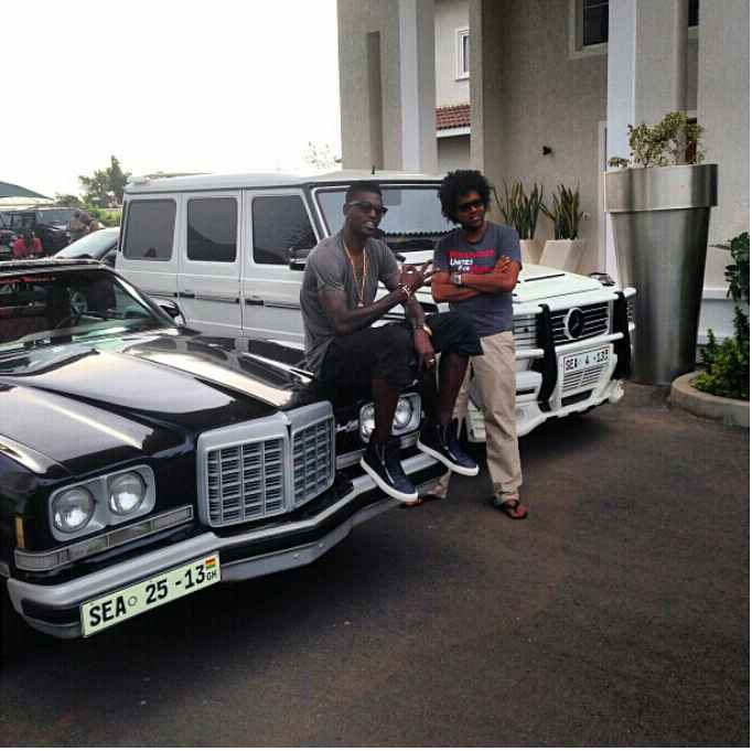Adebayor Asks His Friend To Pick Any Car Of His Choice From His Garage and Take Home