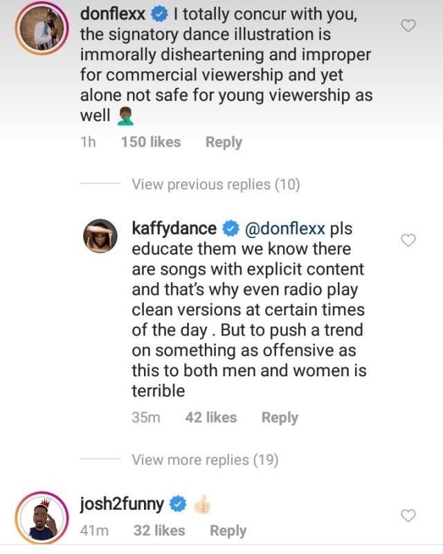 naira marley mocks kaffy for condemning his 'soapy' dance (see photos) NAIRA MARLEY MOCKS KAFFY FOR CONDEMNING HIS 'SOAPY' DANCE (SEE PHOTOS) fs