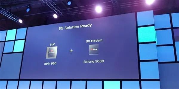 Huawei lança uma banda de base 5G - Balong 5000 2