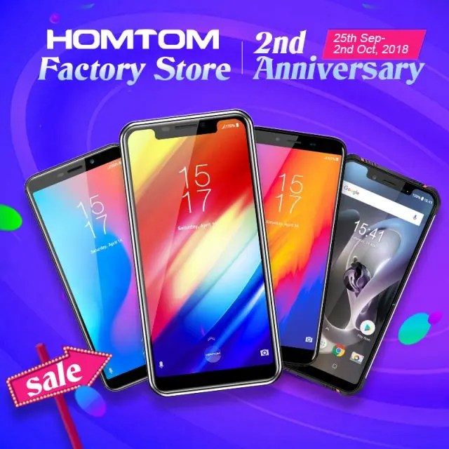 Homtom's Official AliExpress Store