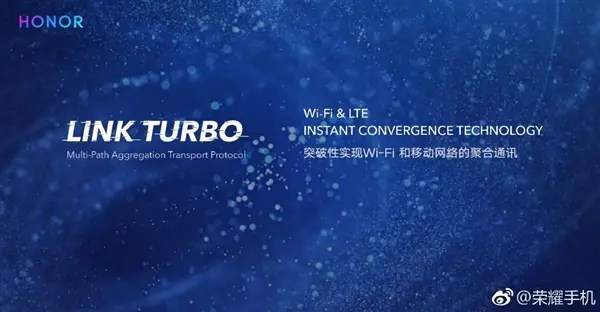 Honor anuncia tecnologia Link Turbo que aumenta a cobertura de rede Wi-Fi / móvel 3