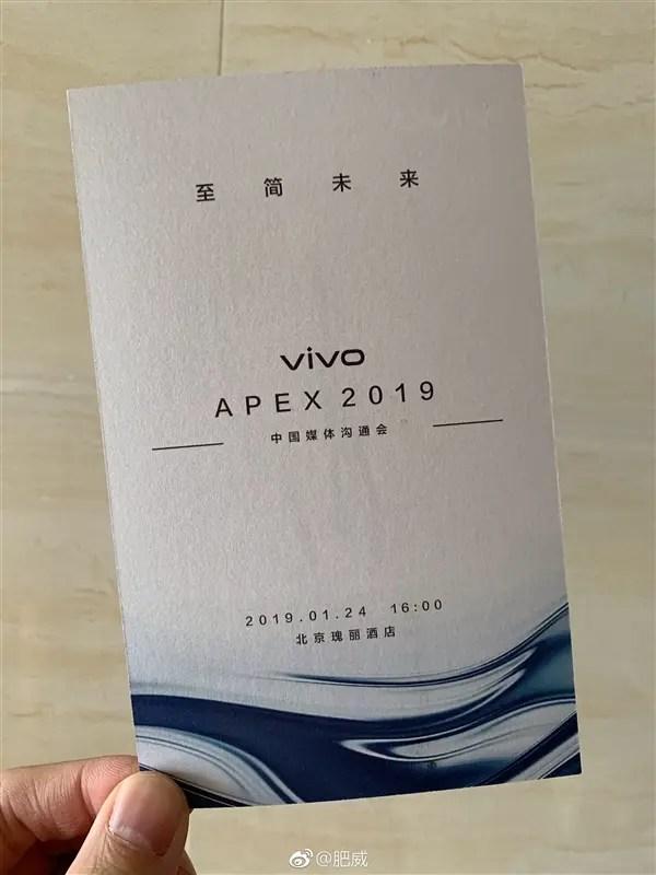 VIVO APEX 2019 chega a 24 de janeiro: Confirmado 3