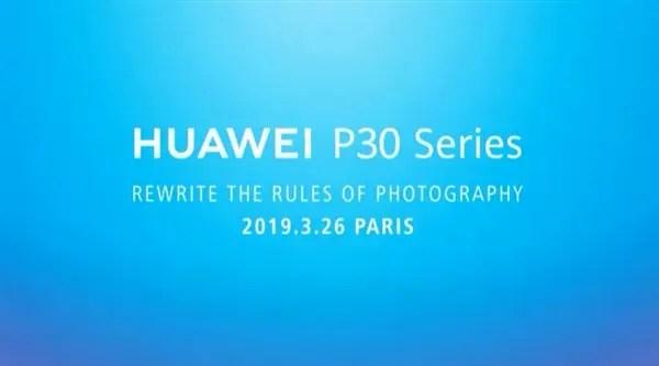 Série Huawei P30 vai alegadamente reescrever as regras da fotografia 2