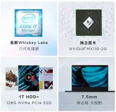 Lenovo Xiaoxin Lite Notebook com Chipsets 8th-Gen da Intel Lançado 2