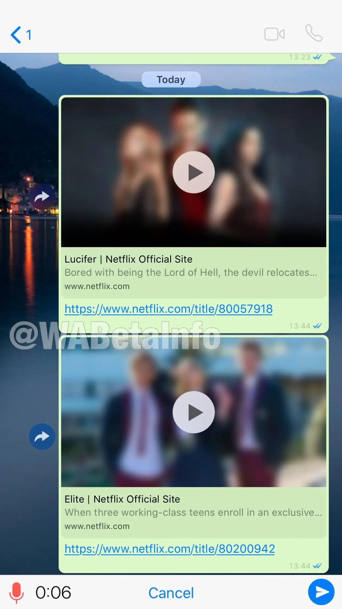 O WhatsApp já permite ver vídeos da Netflix diretamente na aplicação 2