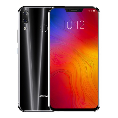 Lenovo Z5 6.2 Inch 4G LTE Smartphone Snapdragon 636 6GB 64GB 16.0MP+8.0MP Dual Rear Cameras Android 8.1 OS Touch ID Type-C - Black