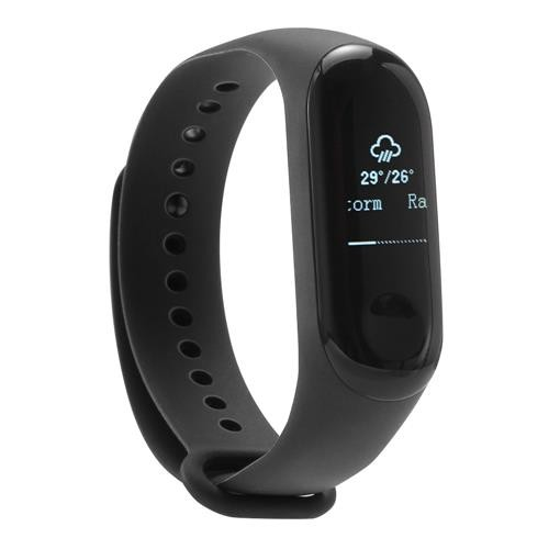 """Xiaomi Mi Band 3 Smart Bracelet 0.78"""" OLED Touch Screen 5ATM Water Resistant Sports Fitness Tracker Reject Phone Calls Notification Display Bluetooth 4.2 International Version - Black"""