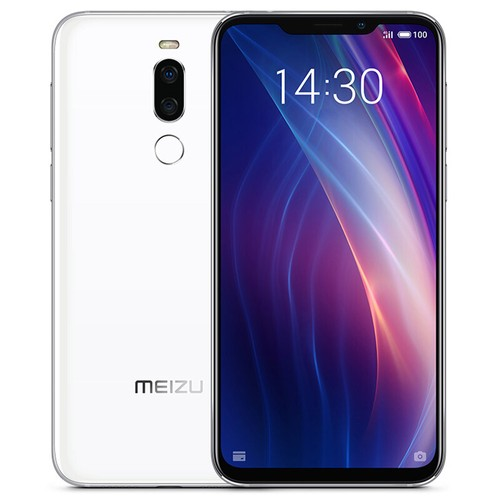 Meizu X8 6.2 Inch 4G LTE Smartphone Snapdragon 710 6GB 128GB 12.0MP+5.0MP Dual Rear Cameras Android 8.1 Face ID Full Screen - White
