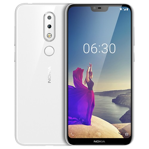 Global ROM NOKIA X6 5.8 Inch 6GB 64GB Smartphone White