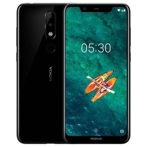 Global ROM Nokia X5 5.86 Inch 4GB 64GB Smartphone Black