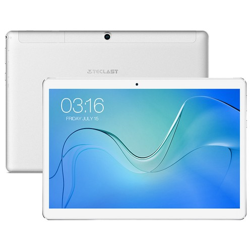 Teclast P10 4G LTE Phablet 2GB 16GB White Silver