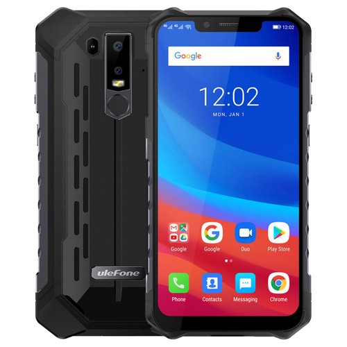 Ulefone Armor 6 6.2 Inch 6GB 128GB Smartphone Black