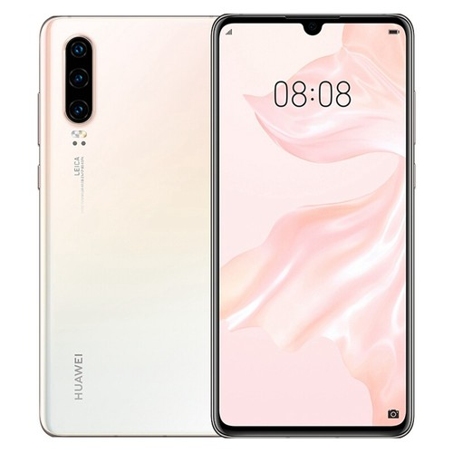 HUAWEI P30 6.1 Inch 4G LTE Smartphone Kirin 980 8GB 128GB 40.0MP+16.0MP+8.0MP Triple Rear Cameras Android 9.0 NFC In-display Fingerprint Fast Charge - Pearl White