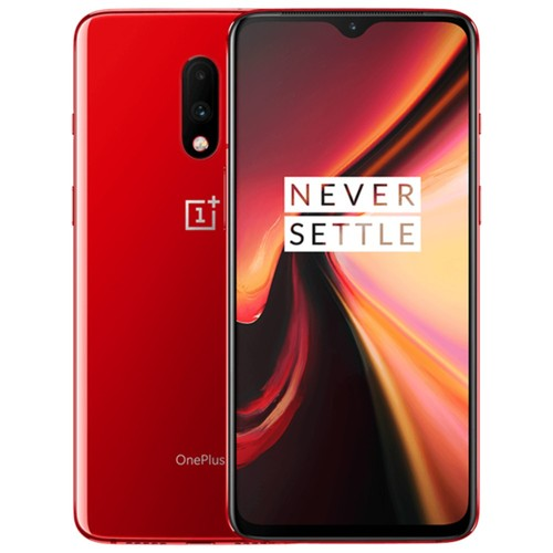 Oneplus 7 6.41 Inch 4G LTE Smartphone Snapdragon 855 8GB 256GB 48.0MP + 5.0MP Dual Rear Cameras Android 9 In-display Fingerprint NFC Fast Charge Global ROM - Red
