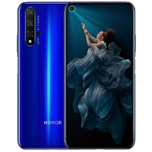 Huawei Honor 20 Pro 6.26 Inch 4G LTE Smartphone Kirin 980 8GB 128GB 48.0MP + 16.0MP + 2.0MP Triple Rear Cameras Android 9 Fast Charging Side-mounted Fingerprint - Blue