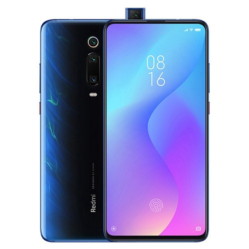 Xiaomi Redmi K20 6.39 Inch 4G LTE Smartphone Snapdragon 730 6GB 128GB 48.0MP+8.0MP+13.0MP Triple Rear Cameras MIUI 10 In-display Fingerprint Fast Charge NFC - Blue