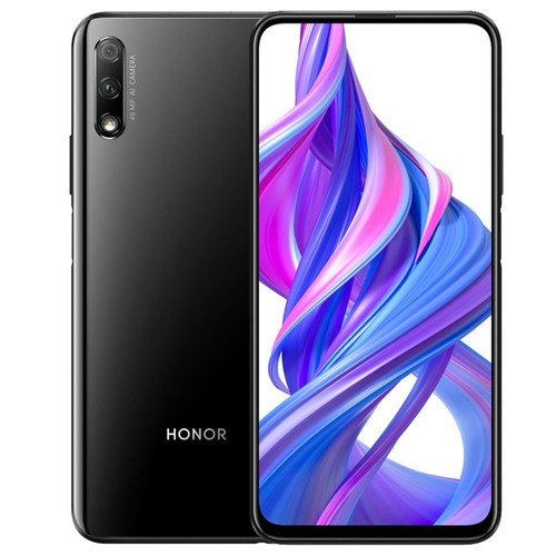 HUAWEI Honor 9X 6.59 Inch 2340*1080P Screen 4G LTE Smartphone Hisilicon Kirin 810 4GB 64GB 48.0MP + 2.0MP Dual Rear Cameras Android 9.0 Dual SIM - Black