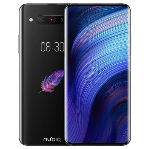 Nubia Z20 NX627J 6.42 Inch FHD+ Screen 4G LTE Smartphone Snapdragon 855 Plus 6GB 128GB 48.0MP+16.0MP+8.0MP Triple Rear Cameras Android 9.0 - Black