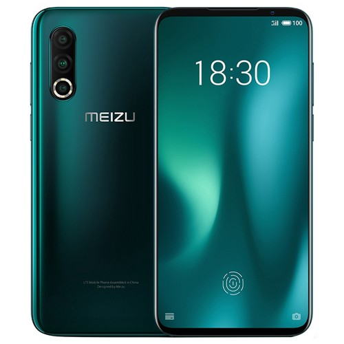 Meizu 16S Pro 6.2 Inch 4G LTE Smartphone Snapdragon 855 Plus 6GB 128GB 48.0MP+20.0MP+16.0MP Triple Rear Cameras NFC Fingerprint ID Dual SIM Android 9.0 - Green