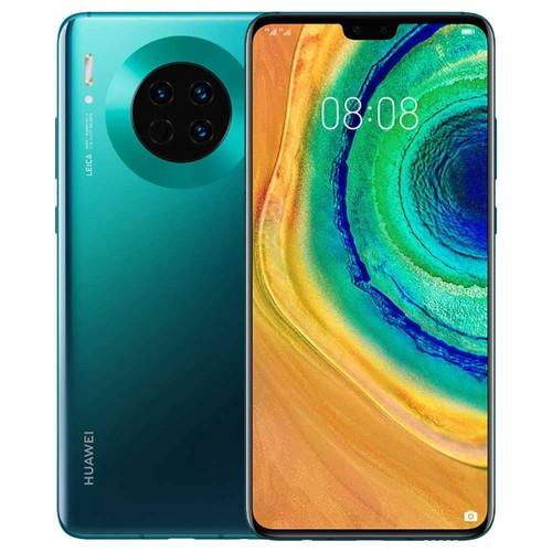 HUAWEI Mate 30 6.62 Inch 4G LTE Smartphone Kirin 990 6GB 128GB 40.0MP+16.0MP+8.0MP Triple Leica Rear Cameras NFC Fingerprint ID Dual SIM Android 10.0 - Emerald Green