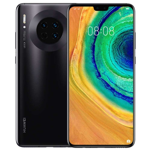 HUAWEI Mate 30 6.62 Inch 5G LTE Smartphone Kirin 990 8GB 256GB 40.0MP+16.0MP+8.0MP Triple Leica Rear Cameras NFC Fingerprint ID Dual SIM Android 10.0 - Black