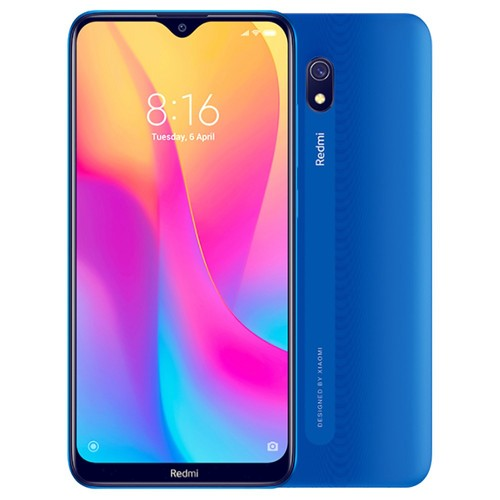 Xiaomi Redmi 8A 6.22 Inch 4G LTE Smartphone Snapdragon 439 2GB 32GB 12.0MP+8.0MP Dual Cameras Face Identification Dual SIM MIUI 10 Global Version - Blue