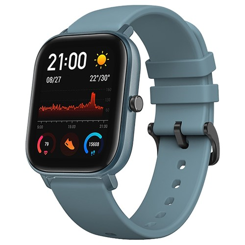 Huami AMAZFIT GTS Smartwatch 1.65 Inch Retina Display 5ATM Water Resistant GPS Global Version - Blue