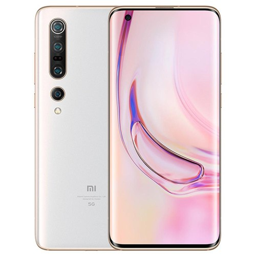 Xiaomi Mi 10 Pro 5G Smartphone 6.67 Inch Screen Snapdragon 865 8GB RAM 256GB ROM Quad Rear Camera Android 10.0 4500mAh Large Battery - White