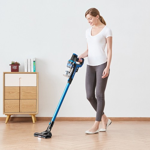 Proscenic P10 Handheld Cordless Vacuum Cleaner Portable Rechargeable Home Vacuum Cleaner Cyclone Filter Cleaner Dust Collector - Blue