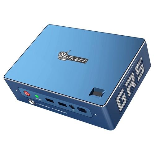 Beelink GT-R Pro MINI PC AMD Ryzen5 3550H Quad Core 16GB RAM 512GB SSD 1TB HDD Radeon Vega 8 Graphics Wi-Fi CERTIFIED 6 802.11ax Bluetooth 5.1 HDMI*2 DP RJ45*2 Type-C Screen Mirroring
