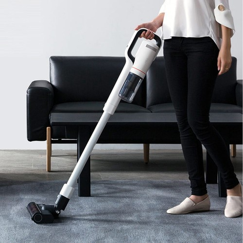XIAOMI ROIDMI NEX S Handheld Cordless Vacuum Cleaner 2 in 1 Vacuuming Mopping 435W Motor 145AW 25000Pa Suction 60 Mins Running Time 400ml Dust Box APP Control - White
