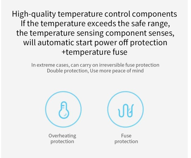 Xiaomi Mijia Ionic Hair Dryer NTC Intelligent Temperature Control 360 Magnetic Anti-scalding Tuyere 1.6 m3 Air Volume - White