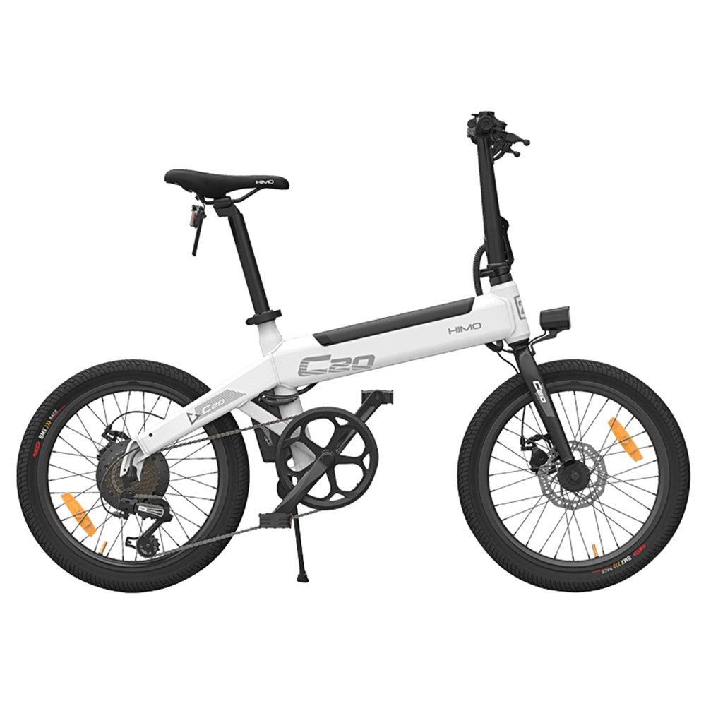 Xiaomi HIMO C20 Foldable Electric Moped Bicycle White