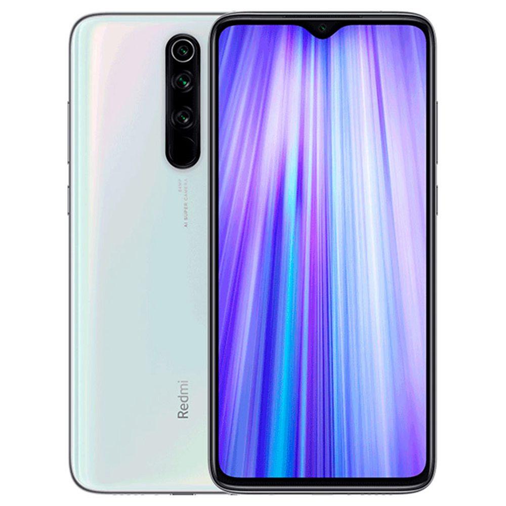 Xiaomi Redmi Note 8 Pro 6.53 Inch 4G LTE Smartphone MTK Helio G90T 6GB 64GB 64.0MP + 8.0MP + 2.0MP + 2.0MP Quad Rear Cameras MIUI 10 Type-C Fingerprint ID Global Version - White