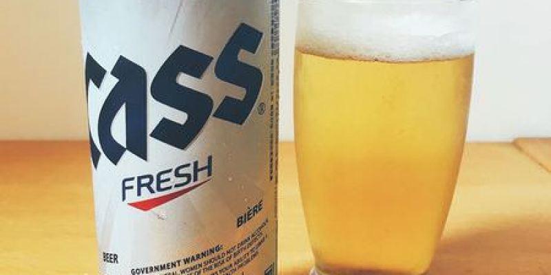 【 CASS Fresh Beer 】韓國CASS啤酒   Korea Beer