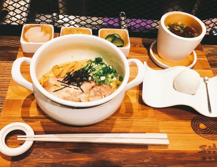 Soba Shinn 柑橘拉麵店 》有著獨特風格的台北拉麵店