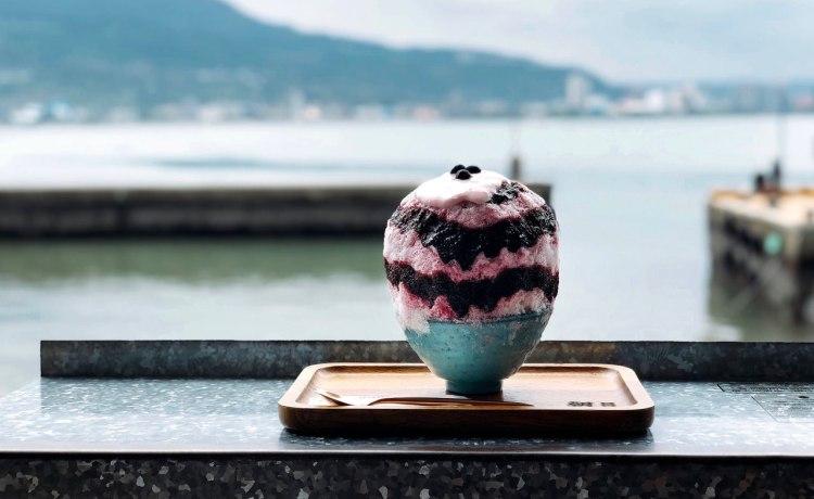 TAMSUI SHAVED ICE 》在淡水朝日夫婦吃冰看淡水河景