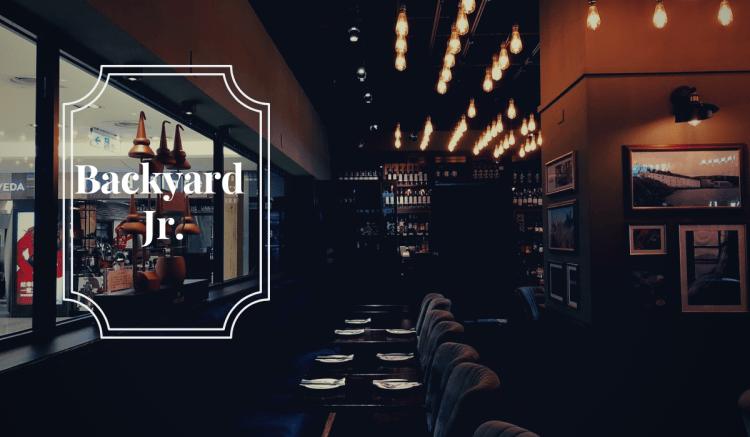 Backyard Jr. Taipei 》小後苑成為全方位的台北威士忌酒吧