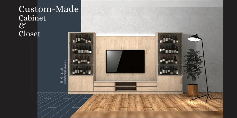 Custom-Made Cabinet & Closet 》選 藝峰工程行 為台北木櫃訂做推薦的原因 (自費非業配)