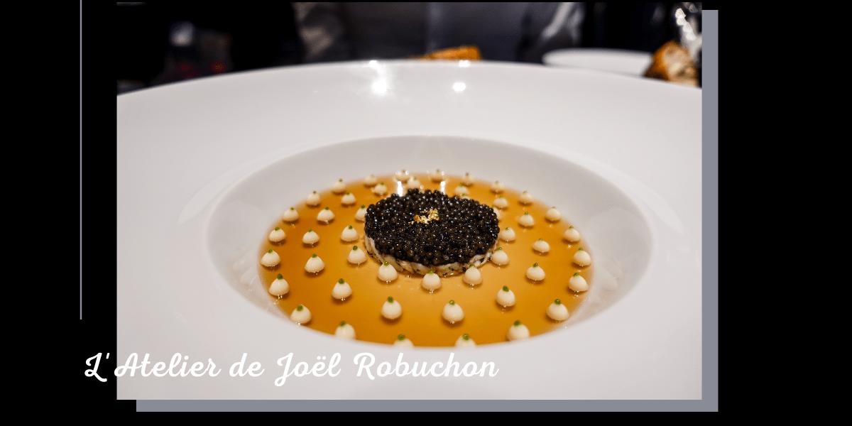 L'Atelier de Joël Robuchon Taipei 》侯布雄菜單 2021 幾乎全都點