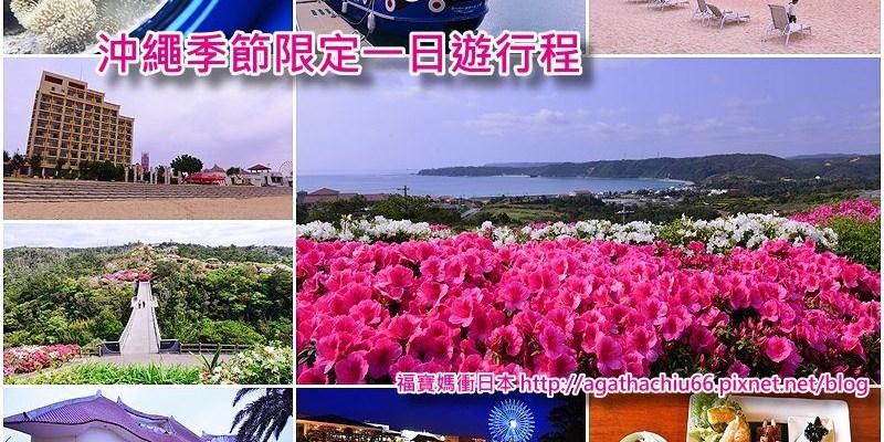 [日本沖繩自駕] 沖繩季節限定一日遊行程~東村杜鵑花祭+海中公園+美國村夜景