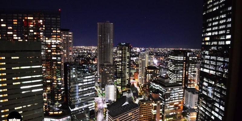 [東京新宿住宿] 新宿東京希爾頓飯店(Hilton Tokyo hotel),大房間高樓層夜景飯店,利木津巴士直達