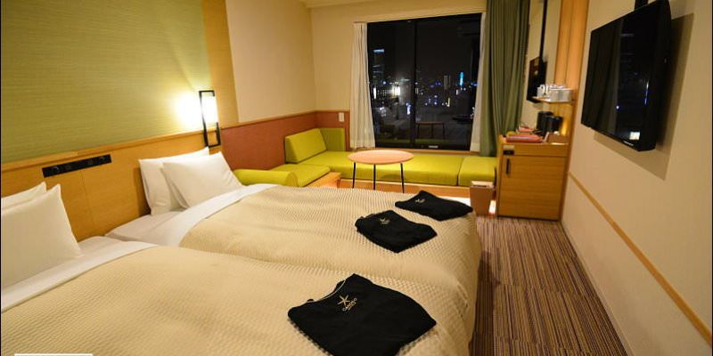 大阪心齋橋新飯店 | 大阪難波光芒飯店 (Candeo Hotels Osaka Namba) .周邊有超商/24H超市,近心齋橋購物方便
