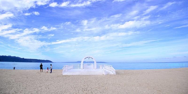 沖繩海景飯店   Okuma私人海灘&度假村 (Okuma Private Beach & Resort).看著夕陽從古宇利島落下,最適合親子入住的北部海景飯店