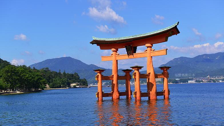 [廣島景點]世界遺產 宮島嚴島神社,步行穿越海上鳥居